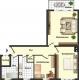 **VERMIETET**DIETZ: Gepflegte und teils modernisierte 3 Zimmerwohnung im 1. Obergeschoss eines 13-Familienwohnhauses - mit Aufzug! - Grundriss