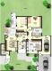 **VERMIETET**DIETZ: Terrassen-Gartenwohnung mit 100 m² Vollkeller- Garage inkl. - eigener Hauseingang - Grundriss Erdgeschoss