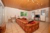 **VERMIETET'**DIETZ: Terrassenwohnung mit Garten - Garage - Einbauküche - Kaminofen - Wanne+Dusche - Habitzheim - Großes Wohnzimmer