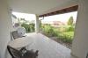 **VERMIETET'**DIETZ: Terrassenwohnung mit Garten - Garage - Einbauküche - Kaminofen - Wanne+Dusche - Habitzheim - Überdachte Terrasse