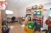 **VERMIETET'**DIETZ: Terrassenwohnung mit Garten - Garage - Einbauküche - Kaminofen - Wanne+Dusche - Habitzheim - Eigener beheizter Abstellraum im UG