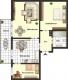 **VERMIETET**DIETZ: 2-3 Zimmerwohnung im 1. Obergeschoss in sehr schöner Waldrandlage - Grundriss Erdgeschoss