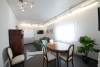 DIETZ: Erstbezug nach Sanierung! Moderne 2-Zimmerwohnung mit kompletter Ausstattung und eigenem Eingang! - Wohn und Essbereich