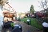 DIETZ: Tip Top ausgestattetes Wohnhaus in ruhiger Lage von Münster Altheim - Blick in den Garten
