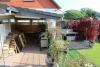 DIETZ: Tip Top ausgestattetes Wohnhaus in ruhiger Lage von Münster Altheim - Sommerbild Garten