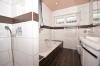 **VERMIETET**DIETZ: ERSTBEZUG n. Sanierung 4,5 Zi-Wohnung mit Blick und direkten Zugang zum eigenen Garten! - Neu saniertes Tageslichtbad
