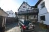 **VERMIETET**DIETZ: Gemütliches Fachwerkhaus mit optional 100 qm Lagerfläche im Nebengebäude - Blick Innenhof