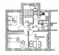 **VERMIETET**DIETZ: Zentral gelegene 3 Zimmer Wohnung mitten in Groß Umstadt mit eigenem CarPort! - Grundriss der Wohnung