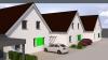 **VERMIETET**DIETZ: Erstbezug eines Neubau-Einfamilienhauses mit Einbauküche inkl. Car-Port - Ansicht von Straße