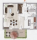 **VERMIETET**DIETZ: Erstbezug eines Neubau-Einfamilienhauses mit Einbauküche inkl. Car-Port - Grundriss Erdgeschoss