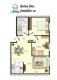 **VERMIETET**DIETZ: Wohnung mit Einbauküche und nagelneuem Bad mit Wanne+Dusche - Grundriss