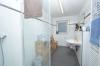 **VERMIETET**DIETZ: Neuwertige 2-Zimmer Terrassen Souterrainwohnung - niedrige Energiekosten - Einbauküche - Tageslichtbad mit Dusche