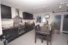 **VERMIETET**DIETZ: Neuwertige 2-Zimmer Terrassen Souterrainwohnung - niedrige Energiekosten - Einbauküche - Einbauküche gegen Abstand