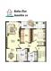 **VERMIETET**DIETZ: Modernisierte 4 Zimmer-Wohnung mit Einbauküche im gepflegten Mehrfamilienhaus - Grundriss Obergeschoss