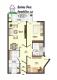 **VERMIETET**DIETZ: Moderne 3 Zi. Wohnung mit Tiefgaragenstellplatz, Tageslichtbad, West-Balkon uvm.!! - Grundriss
