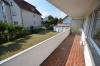 DIETZ: **Einmalige Gelegenheit** Erdgeschosswohnung in direkter Feldrandlage mit Wanne+Dusche+Balkon - überdachter Balkon