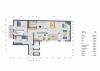 **VERMIETET**DIETZ: LOFT-QUARTIER Wallstadt! Provisionsfreie moderne Obergeschosswohnung - Grundriss Obergeschoss
