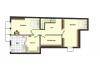 **VERMIETET**DIETZ: LOFT-QUARTIER Wallstadt! Provisionsfreie moderne Maisonettewohnung - Schematischer Grundriss UG