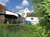 Solides 1 Fam-Haus mit Doppelgarage u. großem Garten In absolut ruhiger Lage, ein Traum für Ihre Ki - Dieser Garten ist ein Traum (und hintere Hausansicht)