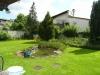 Solides 1 Fam-Haus mit Doppelgarage u. großem Garten In absolut ruhiger Lage, ein Traum für Ihre Ki - Garten mit großem Gartenteich