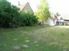 *Verkauft*  Freistehendes EFH mit Garten u. Doppelgarage - Blick in den großen Garten