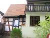 **Verkauft** Gemütliches Fachwerkhaus mit Anbau, ab**1986** renoviert. Ideal für die kleine Familie - Blick v Hof, Richtung Balkon