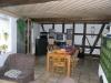 **Verkauft** Gemütliches Fachwerkhaus mit Anbau, ab**1986** renoviert. Ideal für die kleine Familie - Ein Blick ins Wohnzimmer