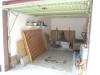 *Verkauft* Solides Einfamilienhaus mit massiver Scheune und Einziehen-Miete sparen !! - Blick in die Garage