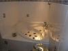 *Verkauft* 1 Fam.-Haus in ruhiger Lage, mit schönem Garten - Bad mit Eckwanne im Erdgeschoss
