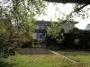 *Verkauft* Solide große Doppelhaushälfte mit tollem Garten und 2 Garagen in Babenhausen OT - Ansicht vom Garten aus gesehen