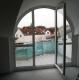 *VERKAUFT*  Dachgeschosswohnung mit Blick üb. Groß Zimmern - Reizvolle Architektur, mit Einbauküche - Der Balkon