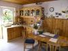 *Verkauft* Freistehendes Haus für die wachsende Familie m. - Die Küche mit Ausgang zur Terrasse