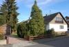 **VERKAUFT**  1-2 Familienhaus mit Traumgarten und Garage. In ruhiger Lage - Haus Grundstück und Garagenansicht