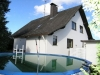 *Verkauft** Luxuriöses Einfamilienhaus mit Traumgrundstück - Ansicht vom Garten aus