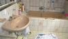 **VERKAUFT**   Walmdachbungalow mit Naturgarten. (eine Grundrenovierung ist erforderlich) - Bad im Dachgeschoss
