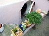 **VERKAUFT**  Hofreite mit einer Einliegerwohnung, und Nebengebäuden  !!! - Eingang in den  Apfelweinkeller