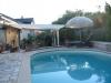 **VERKAUFT**  Exklusives Einfamilienhaus in Grossostheim OT (Neubaugebiet) in grüner Umgebung - mit Schwimmbad !!! - Schwimmbad mit Blick Richtung Terrasse