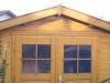 **VERKAUFT**  Hochwertige Doppelhaushälfte mit Einliegerwohnung, direkt in Schaafheim - Gartenhaus