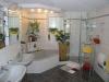 **VERKAUFT** Doppelhausperle in Feldrandlage m. Garage u. 2 Wohneinheiten. - Exklusive Ausstattung in Niedrigenergiebauweise - Top modernes Tageslichtbad mit Dusche und Wanne