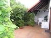 **VERKAUFT**  Top gepflegte DHH mit Garten u. Garage in SÜD-WEST- LAGE - Weitere Ansicht der großen Terrasse