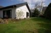 **VERKAUFT**  Hier wohnen Sie auf einer Ebene. Einfamilienhaus im Grünen. - ruhige und begehrte Lage von Münster  !!! - Hintere Gartenansicht