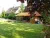 Hochwertiges Architektenhaus zum Hammerpreis !!! TIP TOP gepflegt mit Wintergarten und großem Grundstück - Blick Richtung Car-Port (mit Gartenhaus)