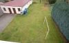**VERKAUFT** 1996 modernisiertes  2 Familienhaus mit 3 Garagen und Garten. **Komplett frei und super günstig** - Blick in den Garten