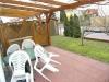 **VERKAUFT**DIETZ: Helle Doppelhaushälfte, Baujahr 2000, in ruhiger zentraler  Lage von Münster zzgl. 3,5 % Maklergebühr - Blick auf Garten und die überdachte Terrasse