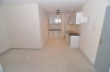 **VERKAUFT** Günstige 1-2 Zi. Wohnung in gepflegter Wohnanlage Baugebiet - Blick in die Küche / Essbereich