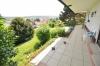 **VERKAUFT** Traumhaus mit herrlichem Panoramablick auf 1125 m²  **in Mosbach** - Terrasse der Erdgeschosswohnung