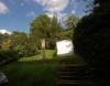 **VERKAUFT**DIETZ:   Einfamilienhaus mit Garten in Schlierbach - Teilansicht vom großen Garten