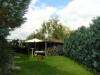 **VERKAUFT**  TRAUMHAUS mit GARTEN, CAR-PORT in FELDRANDLAGE - Teilansicht vom Garten