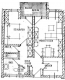 **VERKAUFT**DIETZ:  2 Zimmer Eigentumswohnung mit eigenem Balkon und  Tiefgaragenstellplatz! - Grundriss der Wohnung