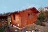 **VERKAUFT** Traumhaftes Einfamilienhaus !! Weit unter Neupreis !!  in klasse Feldrandlage! - Blockbohlenhaus im Garten